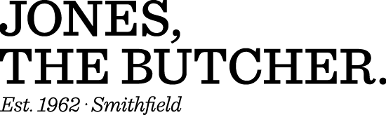 Jones The Butcher logo